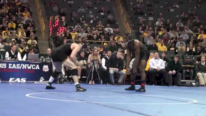 197lbs Finals J'Den Cox (Missouri) vs Nathan Burak (Iowa)