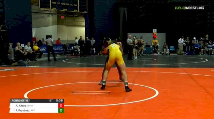 174 lbs Round of 16 - Aj Alford, Navy vs Forest Przybysz, Appalachian State
