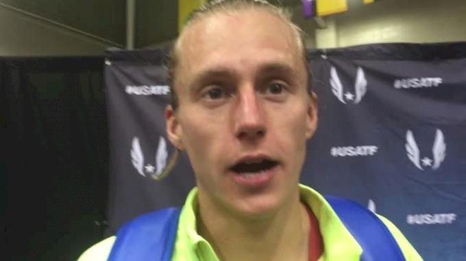 Evan Jager regrets not taking control earlier in 2-mile