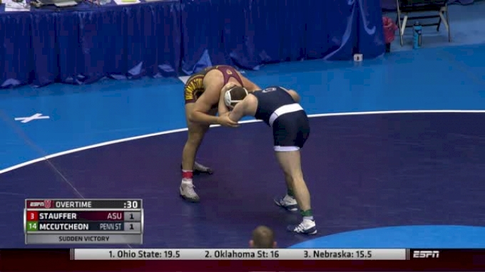 184lbs Round 2 Matt McCutcheon (Penn State) vs. Blake Stauffer (Arizona State)