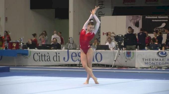 USA, Megan Skaggs, 13.9 FX, Team/AA Finals - Jesolo 2015