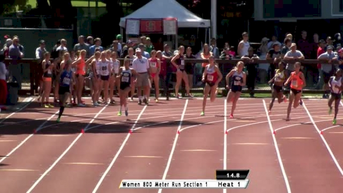 Women's 800 H01 (Vessey MR 2:01.58!)