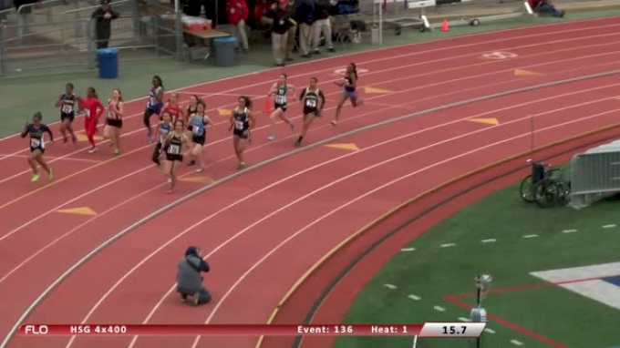 Girl's 4x400  (Event 136)