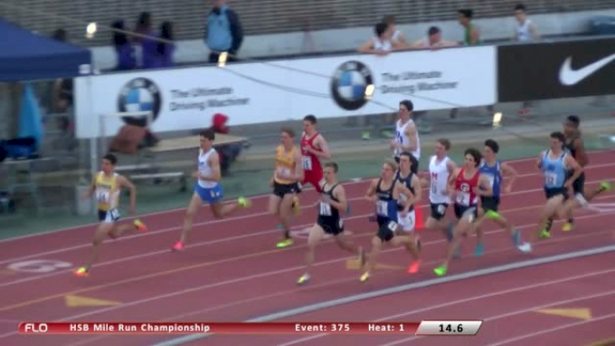 Boy's Mile  (Event 375 - Championship, Hunter joins Centro in Penn Relays history!)