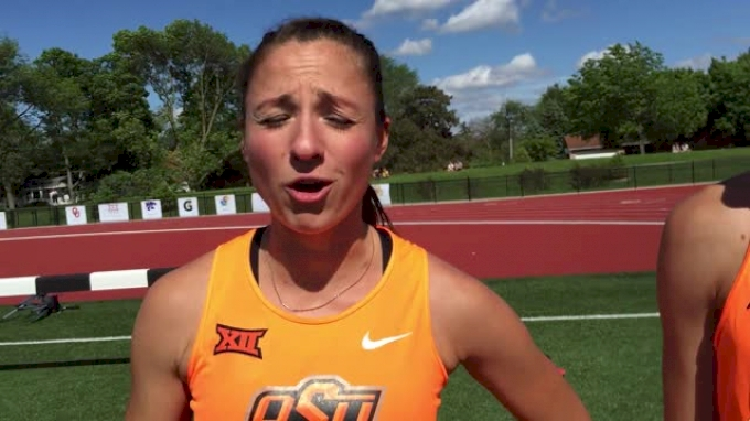 OK State sweeps women's and men's 1500m at Big 12s