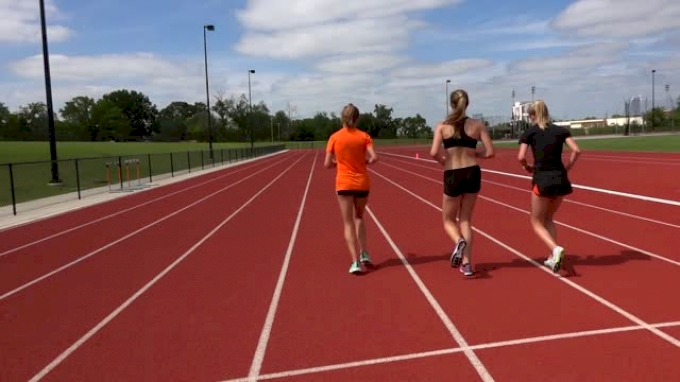 Workout Wednesday: Oklahoma State Women Simulate Race Pace