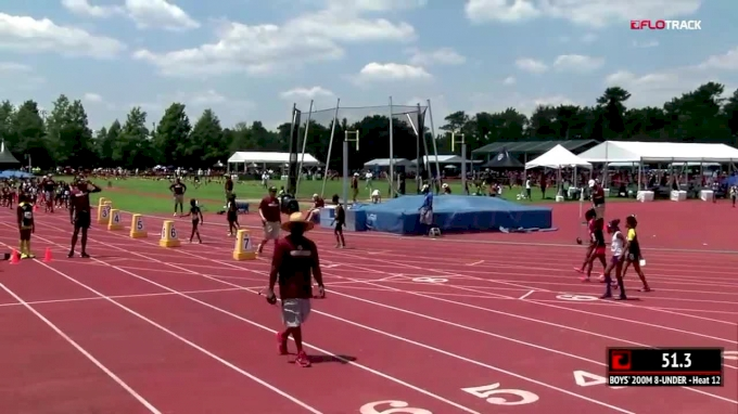 2018 AAU Club Nationals Highlight: 9yo Destyni Devine Breaks Club 200m Record