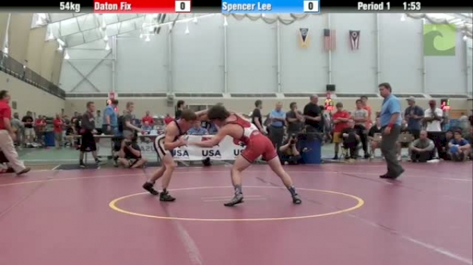Monday Match of the Week: Daton Fix vs Spencer Lee