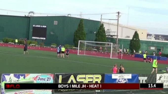 Boy's Mile  (Junior High Invite - 7th Grader Runs 4:32!)