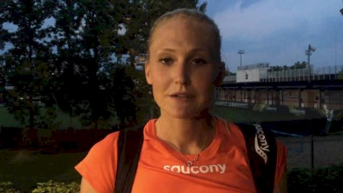 Molly Ludlow runs meet record 1:59, looks toward USAs