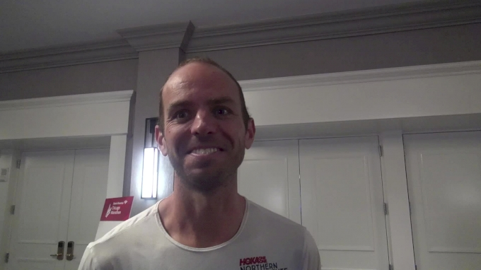 Aaron Braun Redeems Himself At Chicago Marathon