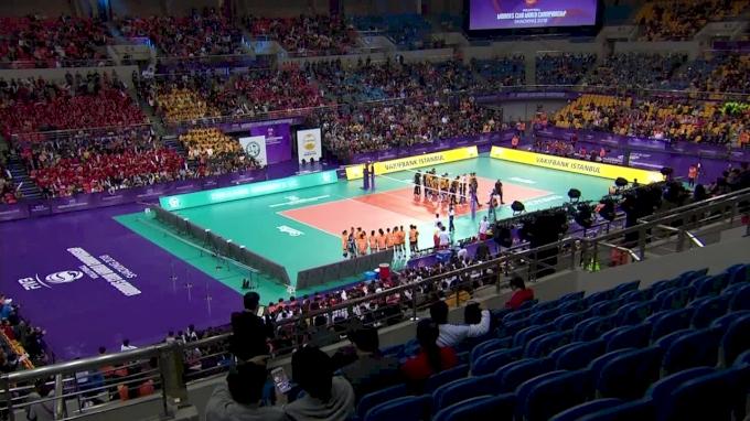 Zhejiang Womens Volleyball Club vs VakifBank Istanbul   2018 FIVB Womens Club World Championships