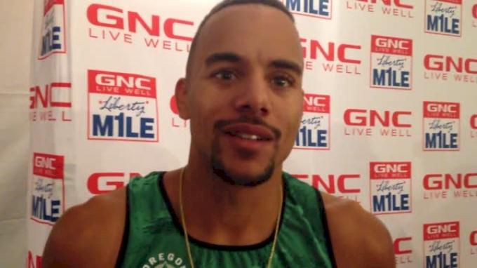 Jordan McNamara wins Liberty mile for second straight year