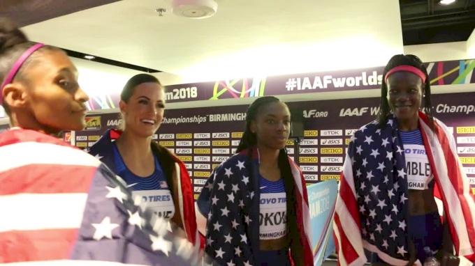 Team USA Overcomes DQ Scare To Win Women's 4x4