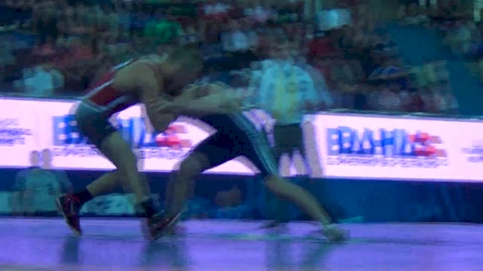 66kg Semi-finals Aaron Pico (USA) vs. Teymur Mammadov (AZE)