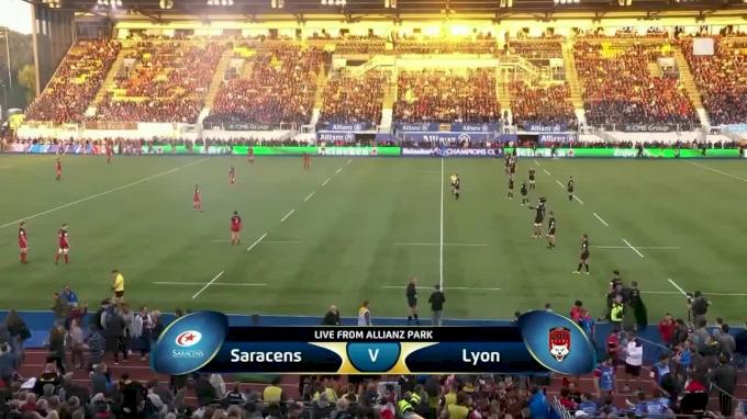 EPRC Round 2 Saracens vs Lyon Highlights
