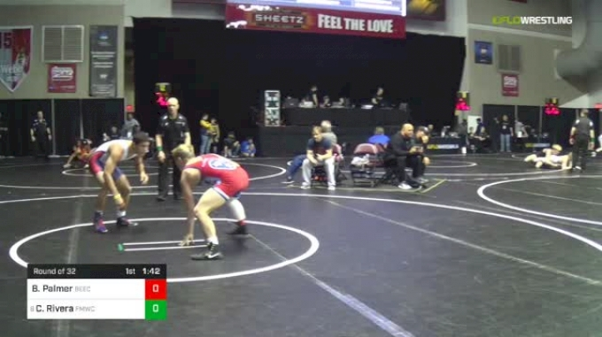 126 lbs Round Of 32 - Brayden Palmer, Beech vs Christopher Rivera, FORT MYERS WC