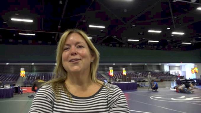 Carolyn Brings Wrestling Prep In Bulk