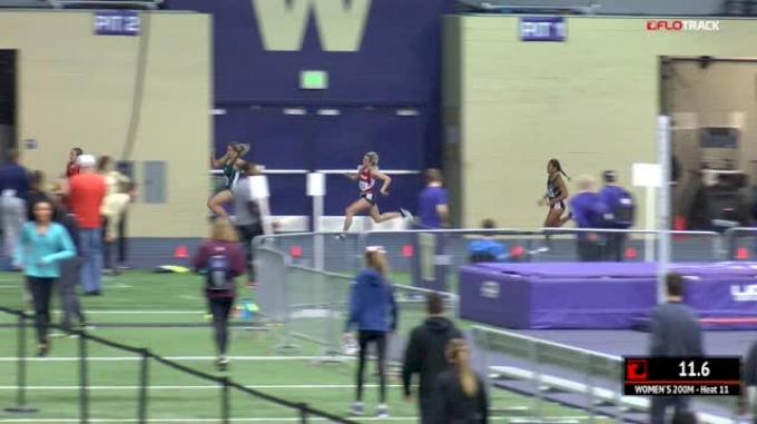 Women's 200m, Heat 11