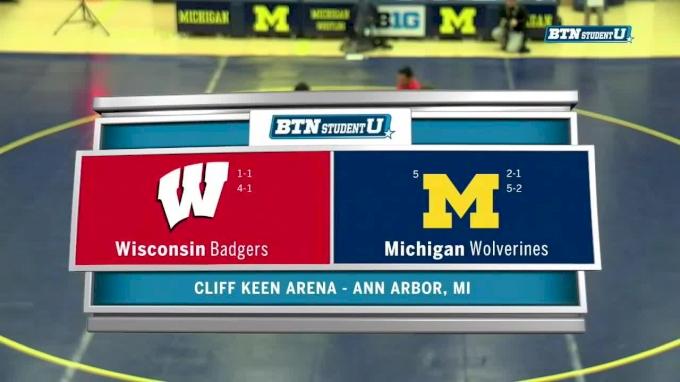 285 lbs, Ben Stone, Wisconsin vs #2, Adam Coon, Michigan