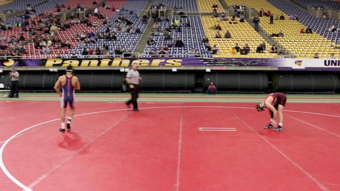 125 Semifinal, Spencer Lee, Iowa vs Johnny Jimenez, Wisconsin
