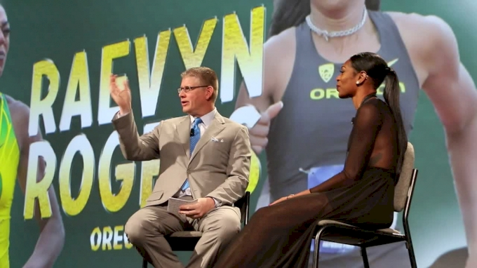 Raevyn Rogers Q&A  with John Anderson