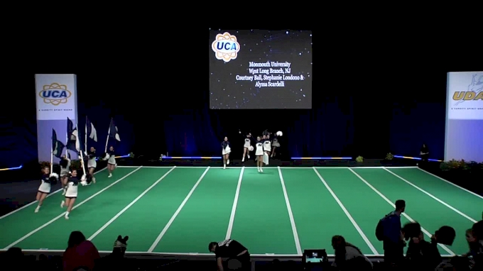 Monmouth University [2018 Open All Girl Game Day] UCA & UDA College Cheerleading and Dance Team National Championship