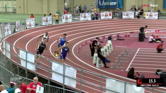 Men's 200m, Heat 14