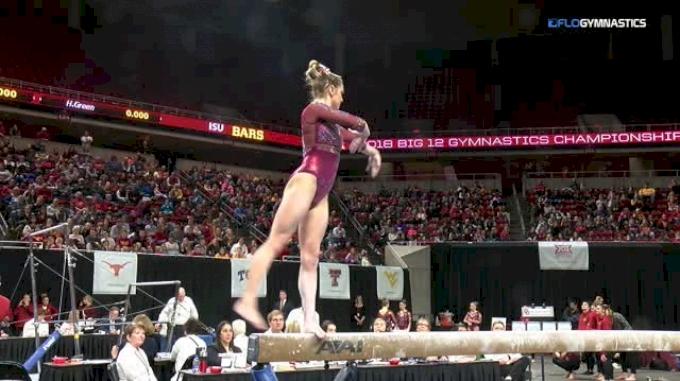 Nicole Lehrmann - Beam, Oklahoma - 2018 Big 12 Championship