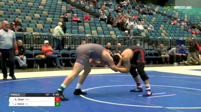 285 lbs Final - Amar Dhesi, Oregon State vs Jere Heino, Campbell