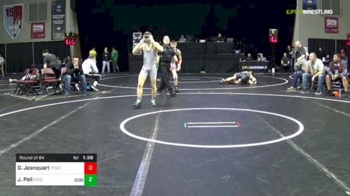 145 lbs Round Of 64 - Garrett Jeanquart, TTWC vs Jacob Pail, Freedom Area
