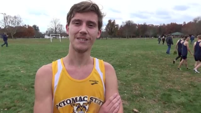 Potomac State's Jared Hallow finishes runner-up at the D3 NJCAA XC Champs