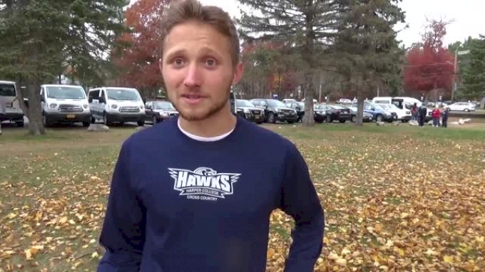 Harper College's Will Troman takes 3rd at D3 NJCAA XC Champs
