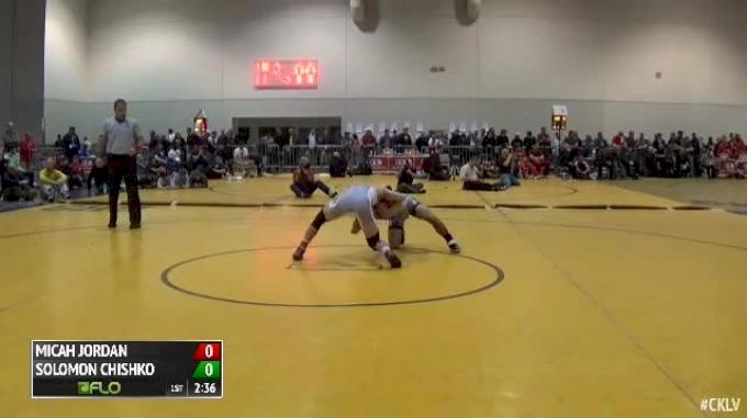 141 Semi-Finals Solomon Chishko (Virginia Tech) vs. Micah Jordan (Ohio State)