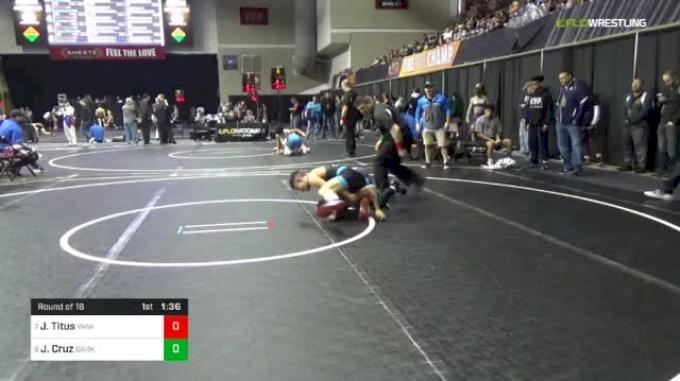 106 lbs Round Of 16 - Jordan Titus, VHW vs Joey Cruz, Darkhorse