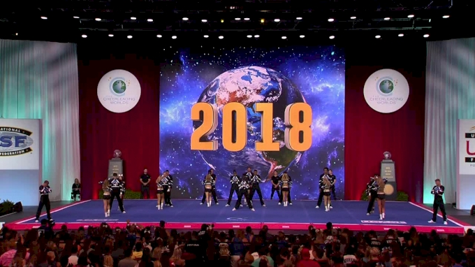 The California All Stars- San Marcos - Rangers [2018 International Open Large Coed Level 6 Finals] The Cheerleading Worlds