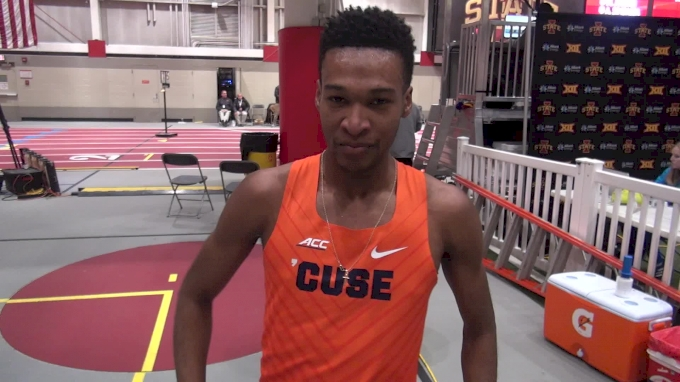 Justyn Knight Hasn't Decide Which Race To Run At Nationals, Mile/3K/5K