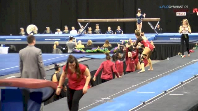 Amanda Wellick - Vault, Arkansas - GymQuarters Invitational (NCAA)