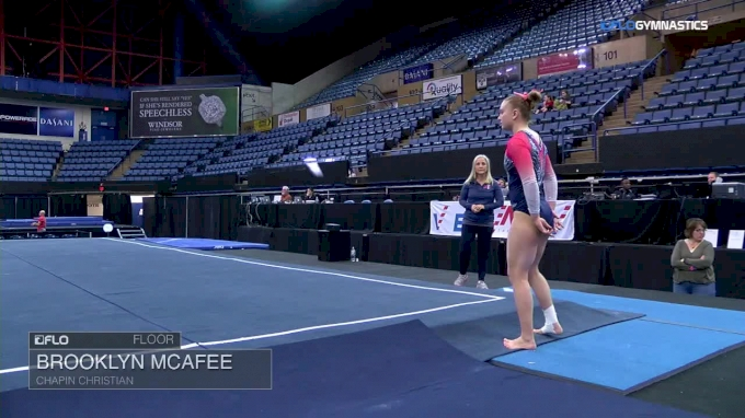Brooklyn McAfee - Floor, Chapin Christian - 2018 Elevate the Stage - Augusta (Club)