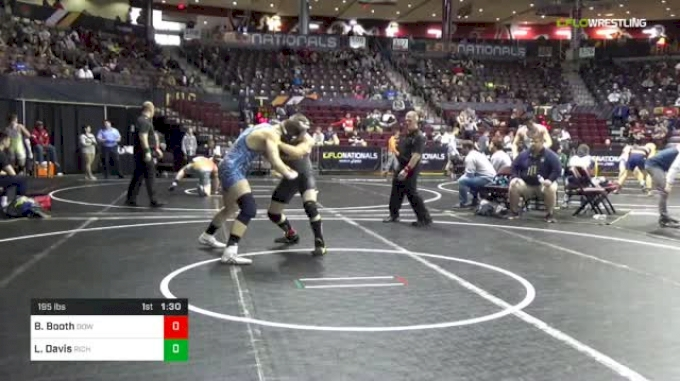 195 lbs Round Of 32 - Brent Booth, Dow Midland vs Luke Davis, Richmond