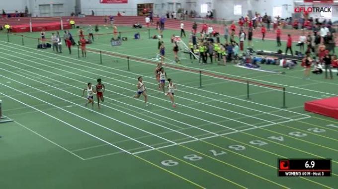 Women's 60m, Heat 3