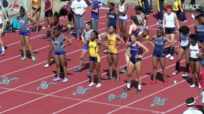 Women's 100m Hurdles, Heat 6