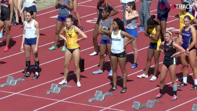Women's 100m Hurdles, Heat 5