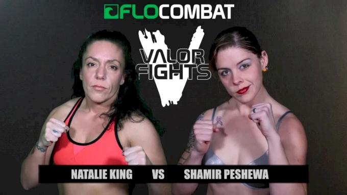 Natalie King vs. Shamir Peshewa - Valor Fights 47