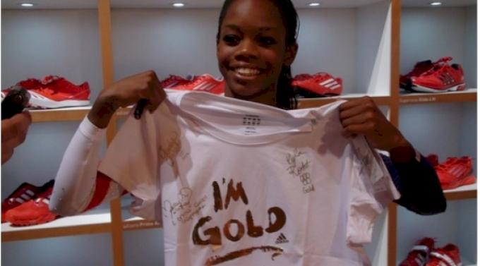 Olympic Rewind: Gabby Wins Gold