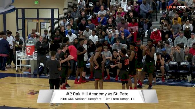 Oak Hill Academy (VA) vs. St. Petersburg (FL) | 1.20.18 | National Hoopfest (Tampa)