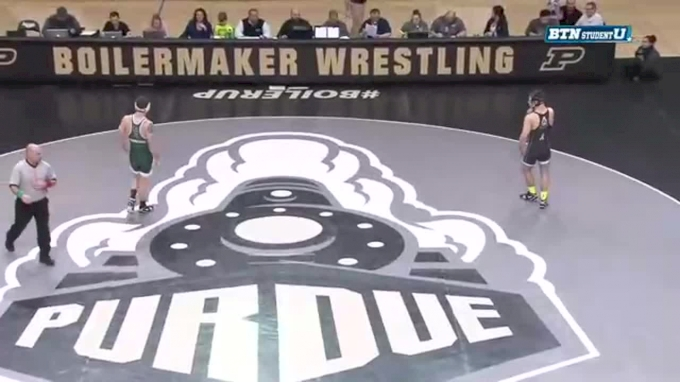 174 lbs Dylan Lydy, Purdue vs. Logan Ritchie, Michigan State