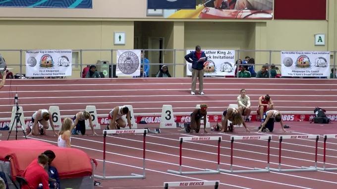 Women's 60m Hurdles, Heat 2