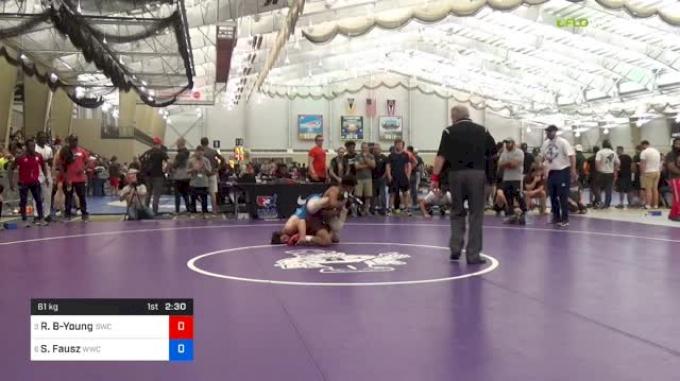 61kg Quarterfinal: Roman Bravo-Young, Sunnyside vs Sean Fausz, Wolfpack WC