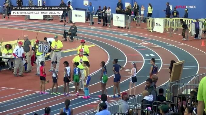 2018 AAU Indoor National Championships - Day 3 Full Replay, Part 1